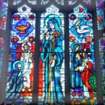St. Gertrude's Stained Glass Window